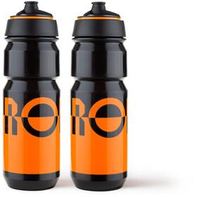 RONDO Rondo Wasserflaschen Set 750ml 2 Stück orange/black